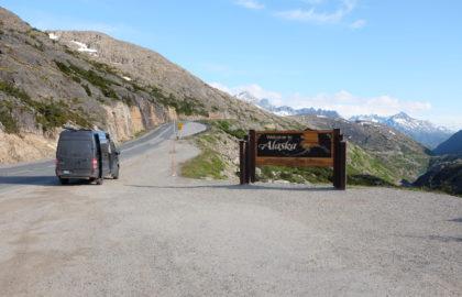 entering alaska