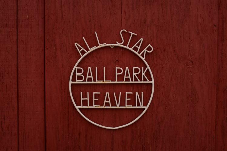 all star bal park heaven in field of dreams movie set