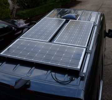 Solar Panels on So We Bought A Van