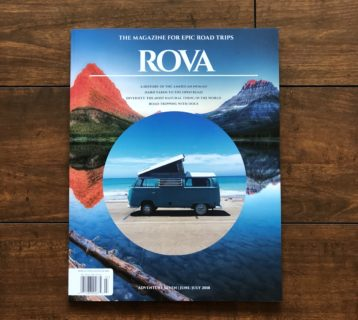 So We Bought a Van featured in ROVA Magazine