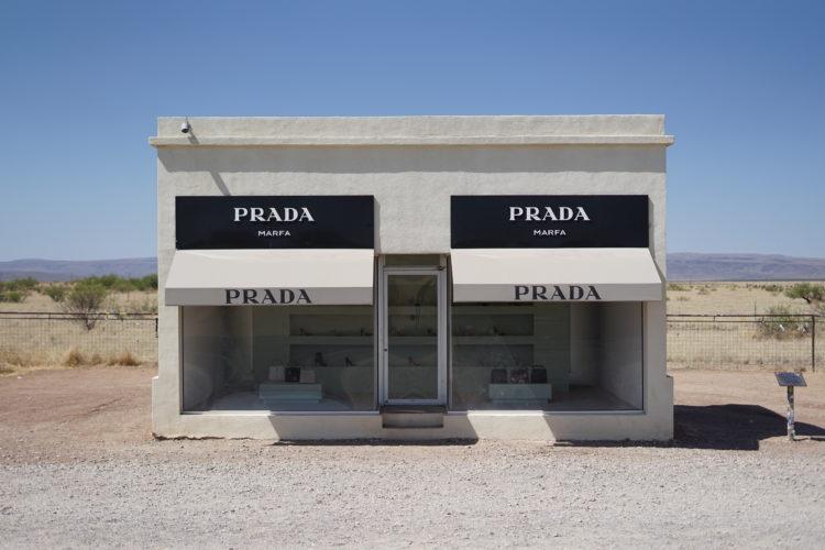 prada marfa art monument in texas