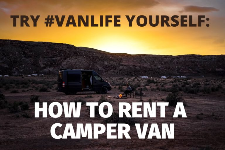 Rent a Camper Van: Try #Vanlife for Yourself - So We Bought